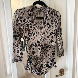 Leopard print Vince Camuto blouse